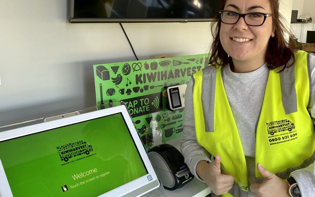 Helping KiwiHarvest help Kiwis
